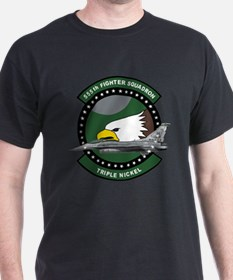 555th_fs_f16_f-16_falcon T-Shirt