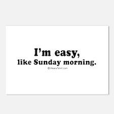 I'm easy, like Sunday morning -  Postcards (Packag