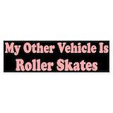 Rollerskating Stickers & Flair