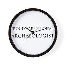 Proud Parent: Archaeologist Wall Clock