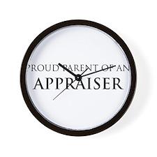 Proud Parent: Appraiser Wall Clock