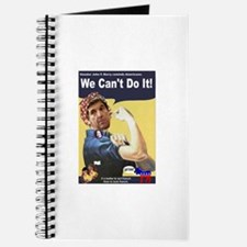 Pelosi - We Can't Do It! Journal