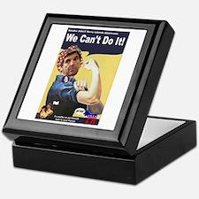 Pelosi - We Can't Do It! Keepsake Box