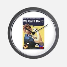 Pelosi - We Can't Do It! Wall Clock