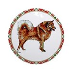 Finnish Spitz Ornament (Round)