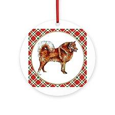 Finnish Spitz Ornament (Round)