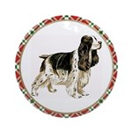 English Springer Spaniel Ornament (Round)