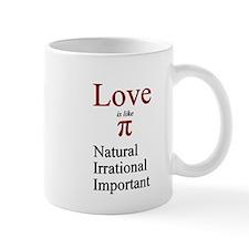 Love Pi Mug