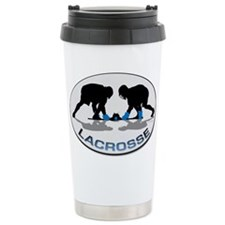Cute Lacrosse Travel Mug