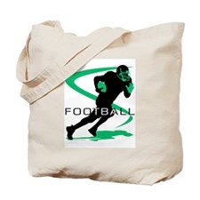Cute Football boy Tote Bag
