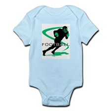 Cute Youth football Infant Bodysuit