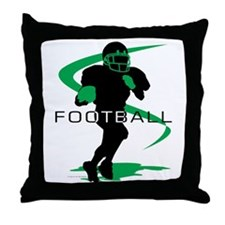 Cute Football Throw Pillow