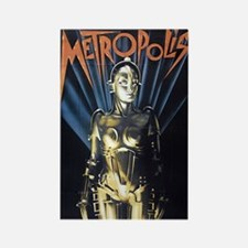 $4.99 Metropolis 1 Rectangle Magnet