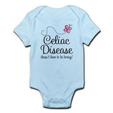 Celiac Disease Message Infant Bodysuit