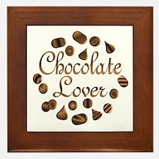 Chocolate Lover Framed Tile