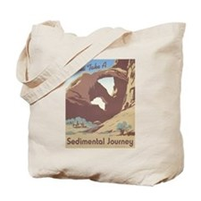 Sedimental Journey Tote Bag