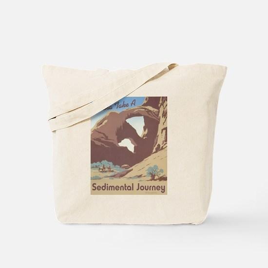 Sedimental Journey Tote Bag
