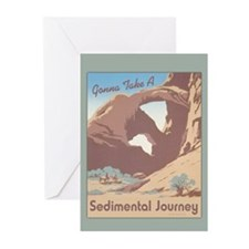 Sedimental Journey Greeting Cards (Pk of 10)