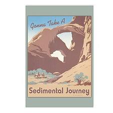 Sedimental Journey Postcards (Package of 8)