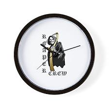 Reaper Crew Wall Clock
