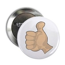 "Hand - Thumbs Up 2.25"" Button"