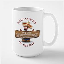 WIND CHILL Large Mug