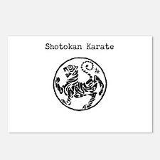 Unique Shotokan karate Postcards (Package of 8)