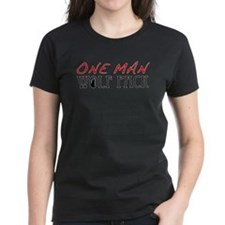 One Man Wolf Pack - Red Tee