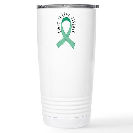 Fight Celiac Disease Stainless Steel Travel Mug