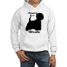 ADOPTED by a Westie Hoodie