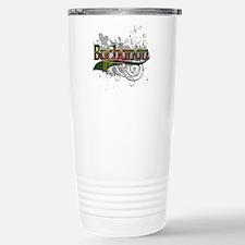 Buchanan Tartan Grunge Stainless Steel Travel Mug