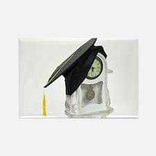 Graduation time Rectangle Magnet