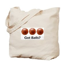 Basketball Got Balls Tote Bag