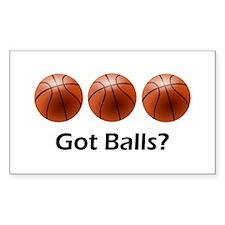 Basketball Got Balls Decal