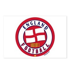 England Football Soccer Postcards (Package of 8)