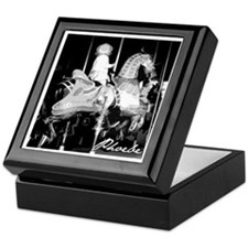 Cute Carousel Keepsake Box