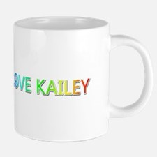 Peace Love Kailey Ceramic Mega Mug