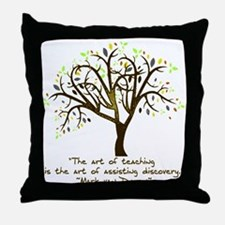 The Art Of Teaching Throw Pillow