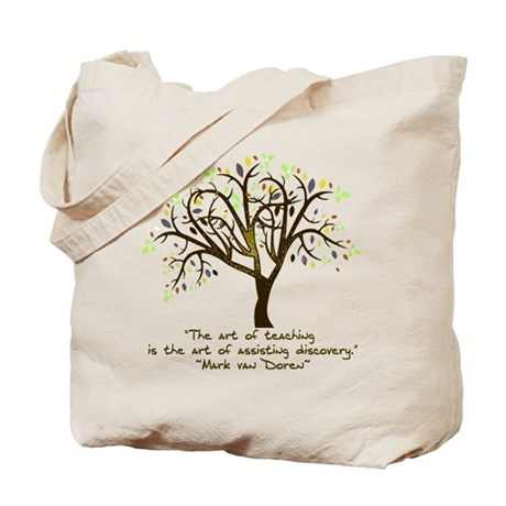 The Art Of Teaching Tote Bag