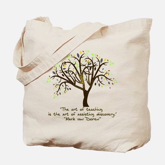 The Art Of Teaching Tote Bag