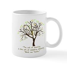 The Art Of Teaching Small Mug