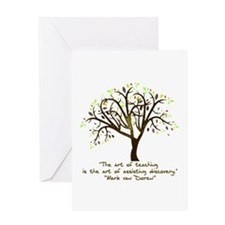 The Art Of Teaching Greeting Card