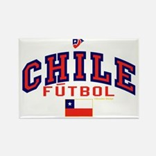 CL Chile Futbol Soccer Rectangle Magnet