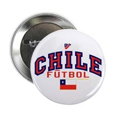 """CL Chile Futbol Soccer 2.25"""" Button (10 pack)"""