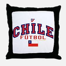 CL Chile Futbol Soccer Throw Pillow