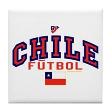 CL Chile Futbol Soccer Tile Coaster