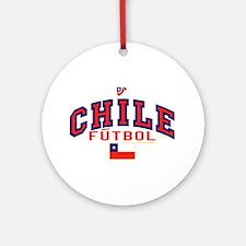 CL Chile Futbol Soccer Ornament (Round)
