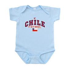 CL Chile Futbol Soccer Infant Bodysuit