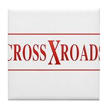 CrossXroads Tile Coaster