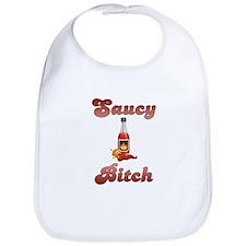 Saucy Bitch Bib